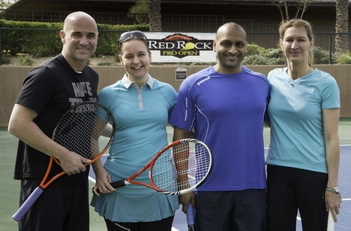 A Match with Andre Agassi (1)