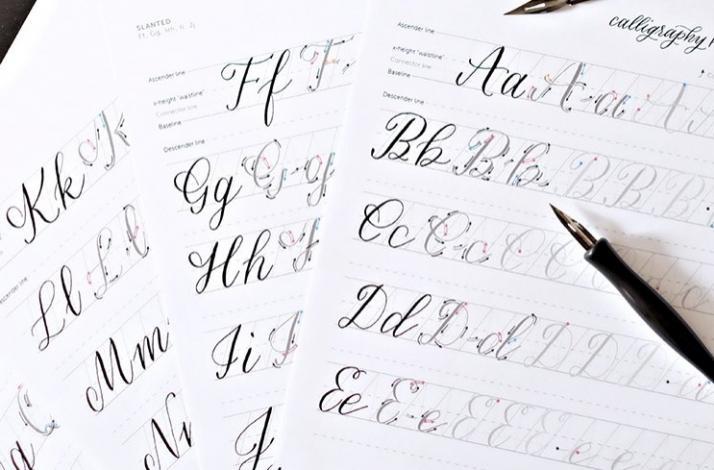 Beginner Modern Calligraphy and Supply Kit: In New York, New York (1)