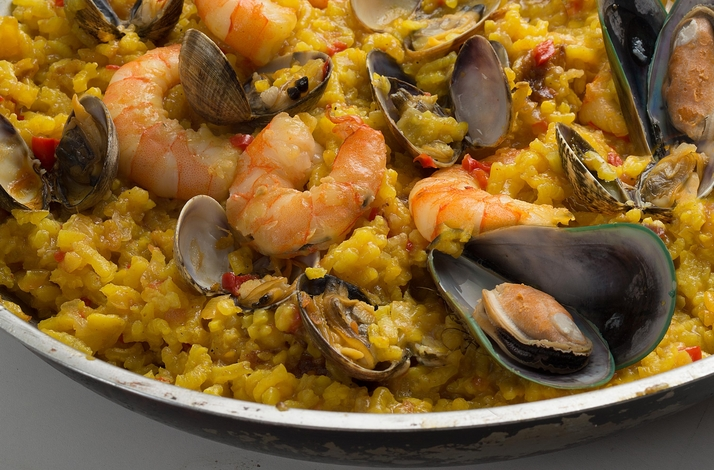 A Trip to Spain: Hands-On Paella and Tapas Class with a Private Chef: In Los Angeles, California (1)