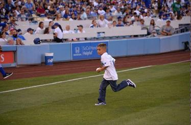Cheer as your child takes the field at Dodger Stadium: In Los Angeles,  California