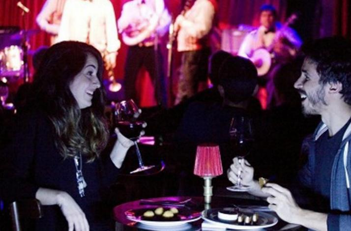 Sip and sample during a musical performance at the Bebop Club: In Buenos Aires, Argentina (1)