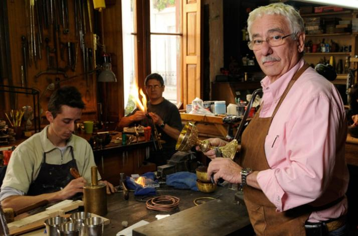 Meet Juan Carlos Pallarols in his world-famous studio: In Buenos Aires, Argentina (1)