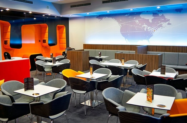 Take it easy before the take-off at the Mastercard Lounges: In Moscow, Russia (1)