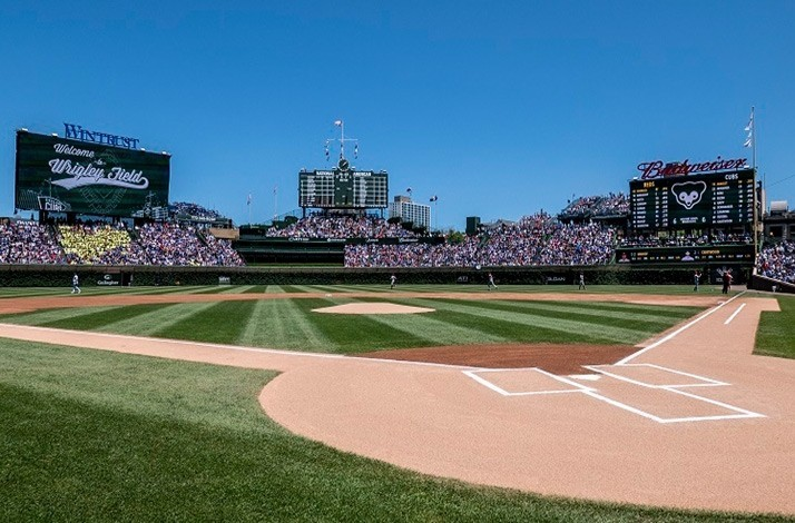 Cheer on the Chicago Cubs from prime seats: In Chicago, Illinois (1)