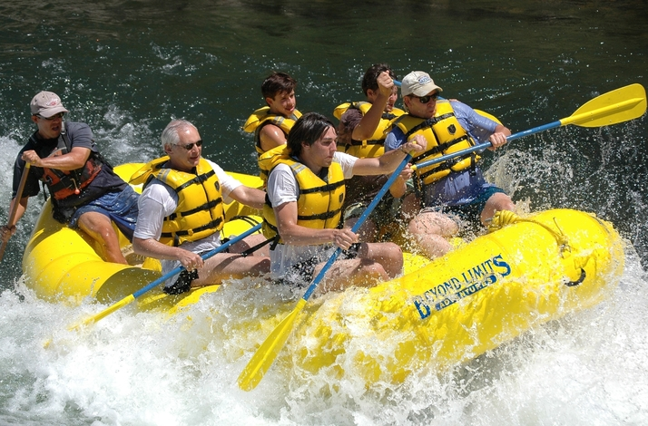 Private Whitewater Rafting Tour of the South Fork American River Lower Gorge Section: In Coloma, California (1)