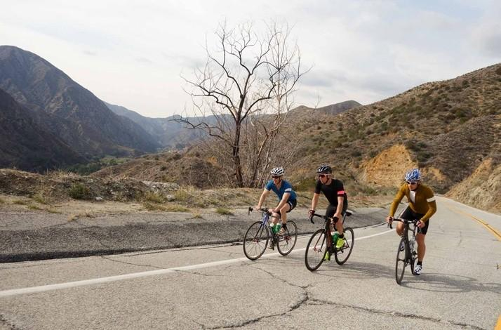 600-Mile Cycling Adventure from Los Angeles to San Diego: In Los Angeles, California