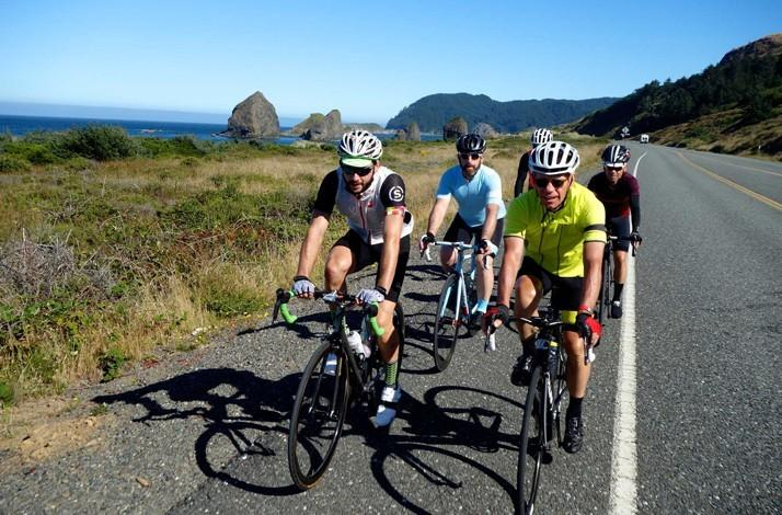 862 Mile Cycling Adventure from Portland to San Francisco: In San Francisco, California