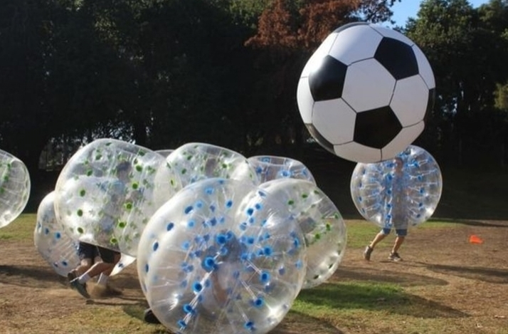 Become a Human Hamster Ball with Bubble Soccer: In Los Angeles, California (1)