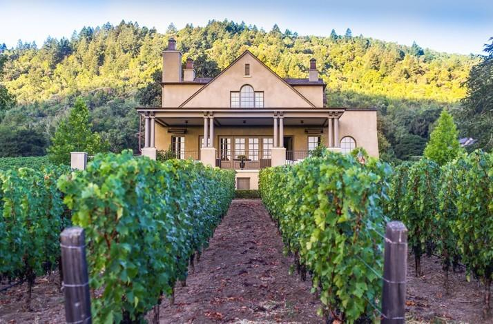 Private Wine Country Dinner for Two Hosted by Napa's Preeminent Estate Owners: In Rutherford, California (1)