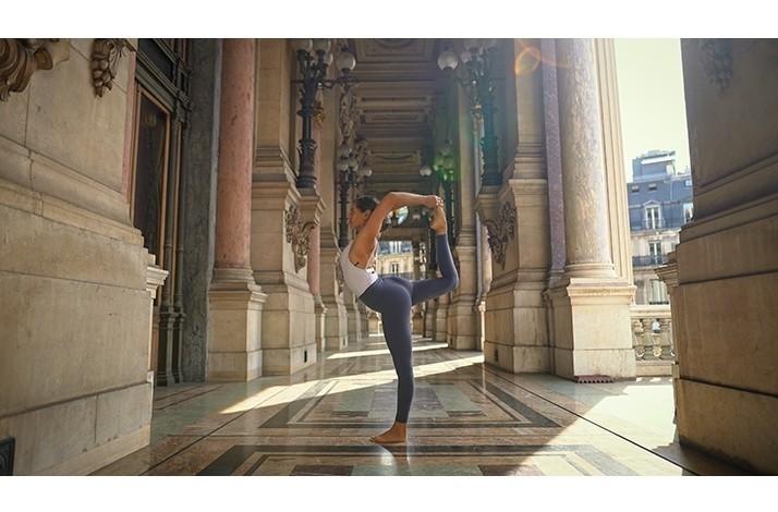 Virtual yoga class at Palais Garnier #2: In Paris, France (1)