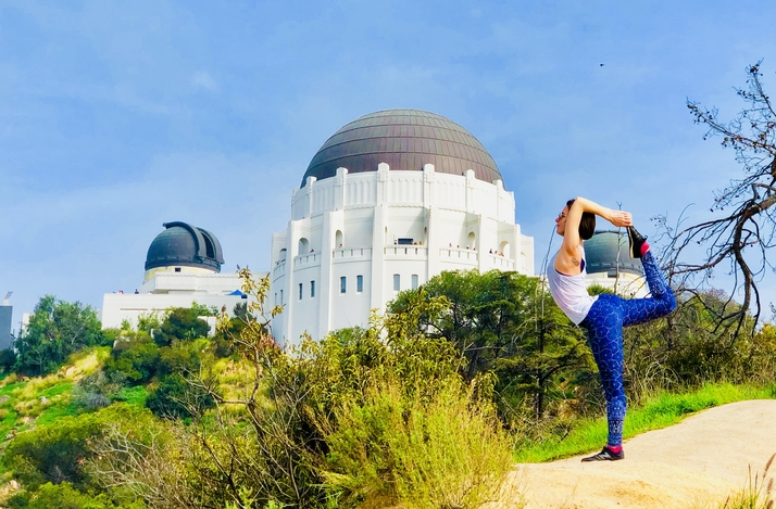 Customized Yoga Session and Hike with Instagrammable Moments: In Los Angeles, California (1)