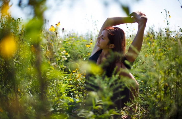 Outdoor Restorative and Yin Yoga Private Lesson: In Chicago, Illinois (1)