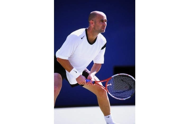 Play Tennis with Andre Agassi and Stefanie Graf in Vegas + 3-Night Stay & Dinner at Michael Mina: In Las Vegas, Nevada (1)
