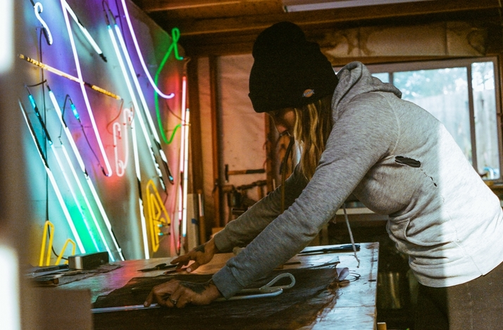 Neon Light Workshop with a Neon Bending Pro: In Oakland, California (1)