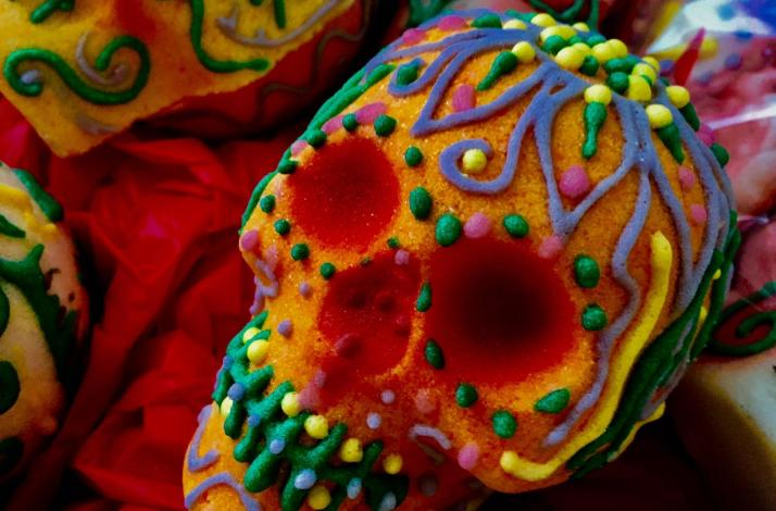 A Unique Mexican Sugar Skull Decorating Party and Art Class: In Newark