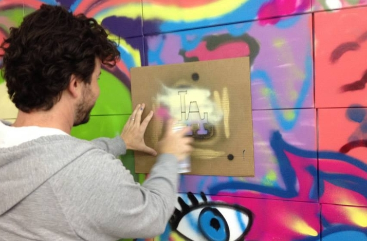 Exclusive Graffiti Workshop with LA's Man One: In Los Angeles, California (1)