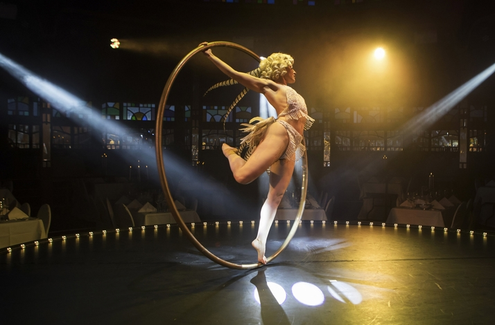 Cyr Wheel Workshop with Professional Performance Artist: In Los Angeles, California (1)