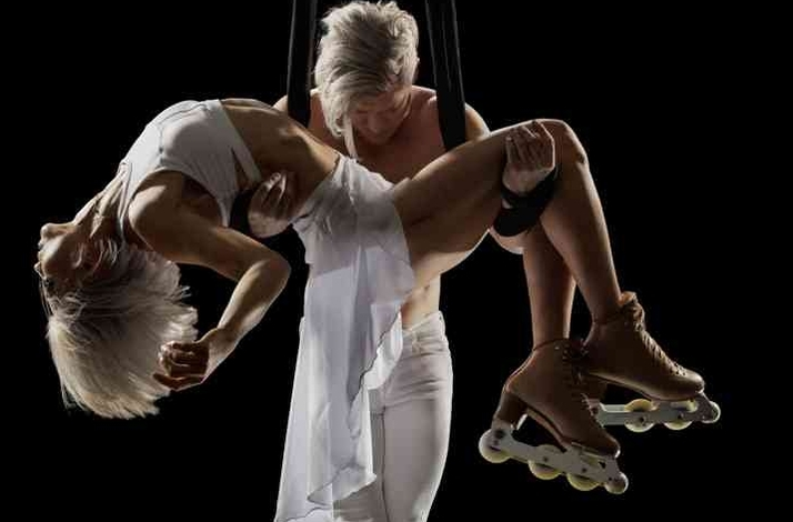 An Aerial Circus Experience with Professional Performers: In New York, New York (1)