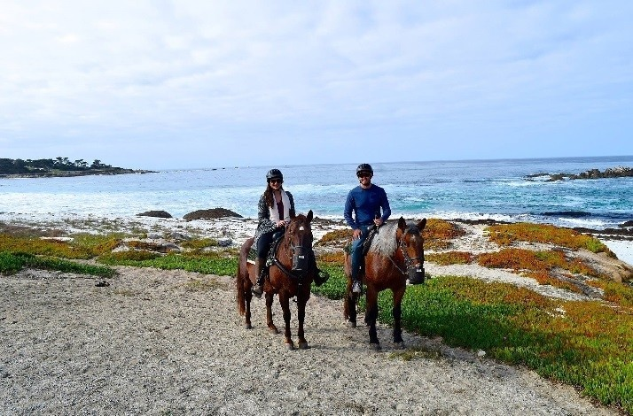 Take a guided horseback ride to Pebble Beach and have a picnic: In Pebble Beach, California (1)