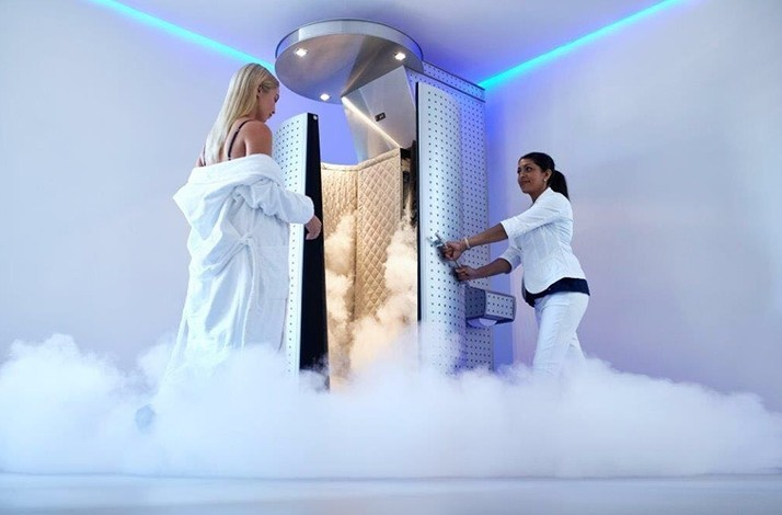Detox at a cold sauna outside of opening hours: In Munich, Germany (1)