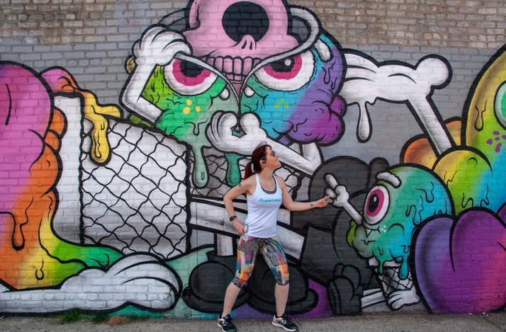 NYC Street Art Running Tour: In New York, New York (1)