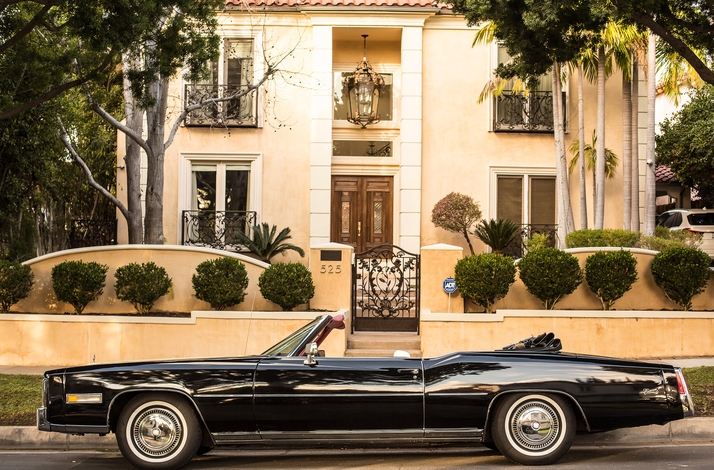 Experience Trendy Venice, Santa Monica and Pacific Palisades in 1976 Cadillac: In Beverly Hills, California (1)