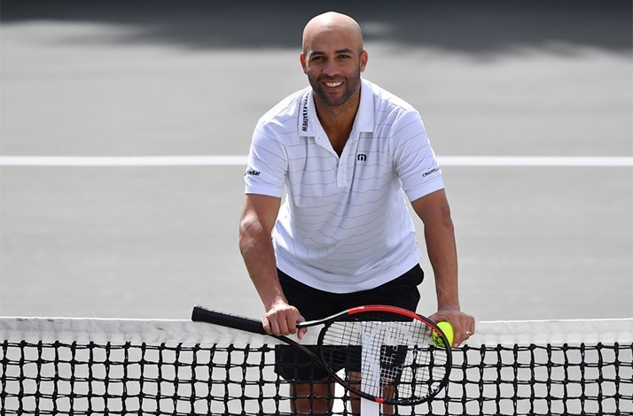 Train with Former No. 1 Tennis Pro James Blake in a Private Lesson + Signed Racquets + Photo Op (1)