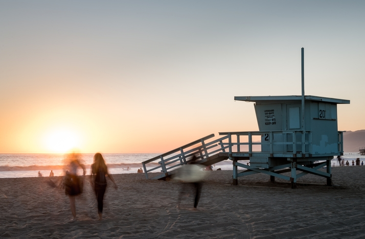 Scenic Guided Meditation and Yoga Overlooking the Pacific Ocean: In Los Angeles, California (1)