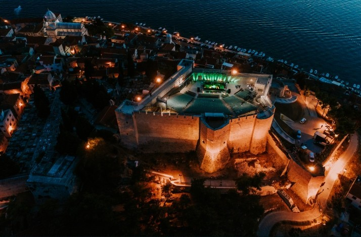 Throw a reggae party on the terrace of St. Michael's Fortress: In Šibenik, Croatia (1)