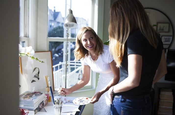 Expand Your Horizons Private One on One Art Class with a Fashion Illustrator: In San Francisco, California (1)