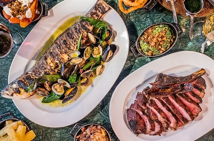 Partake in a custom three-course menu at The Coal Shed: In London, United Kingdom
