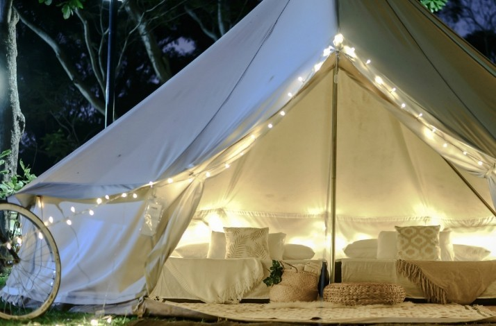 Go glamping on the beach on Singapore's resort island: In Singapore, Singapore (1)
