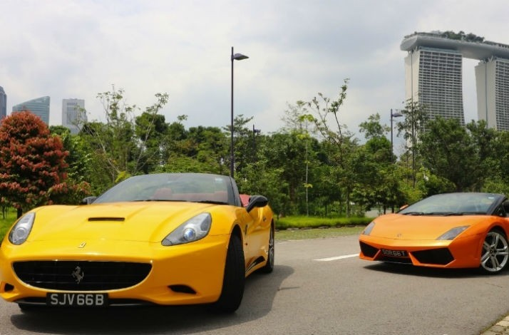 Get behind the wheel of a supercar on Singapore's F1 circuit: In Singapore, Singapore (1)