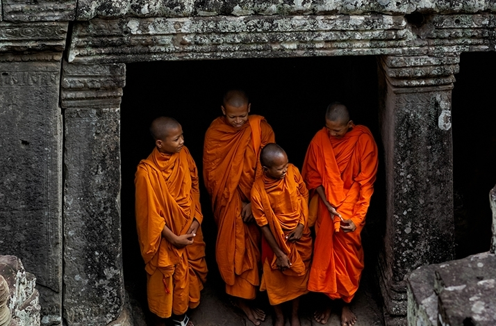 A Taste of Buddhism - Bicycle Tour: In Krong Siem Reap, Cambodia (1)