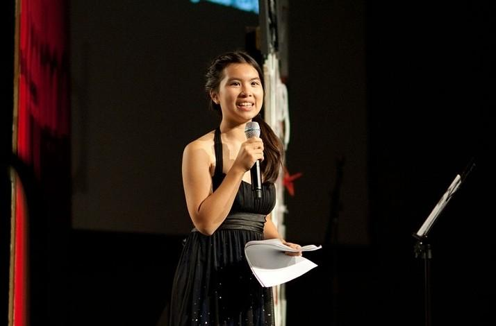 Keynote by a Child Author and the Voice of Her Generation: In Emeryville, California (1)