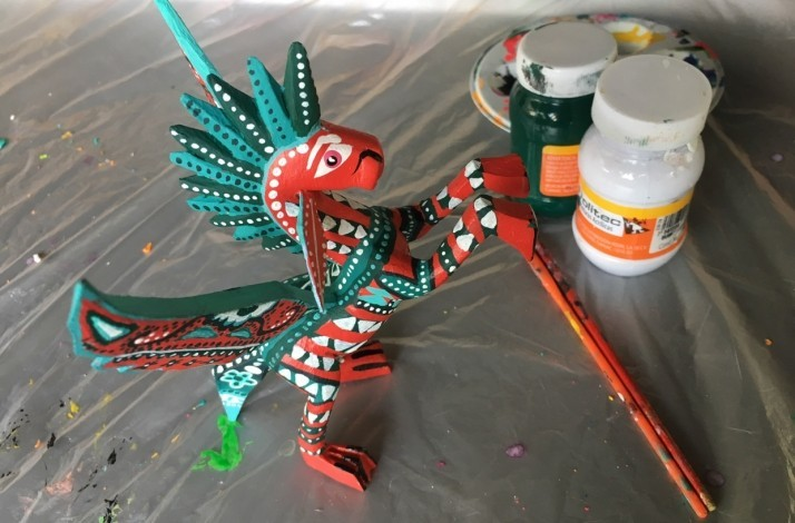 Drink And Paint: Alebrijes: In Mexico City, Mexico (1)