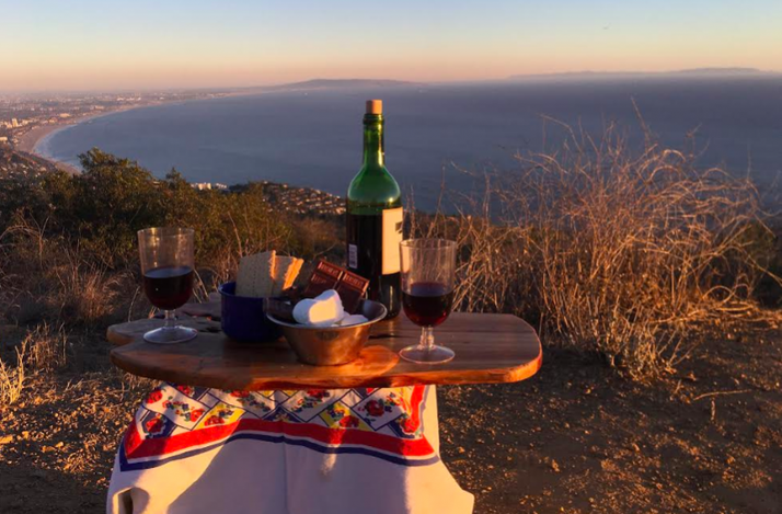 Scenic Ocean Hike with S'mores and Wine : In Los Angeles, California (1)