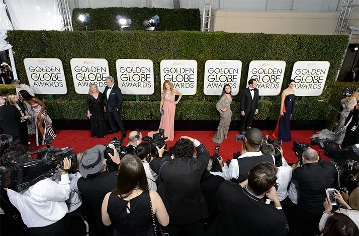 Golden Globes Red Carpet Bleacher Seat Passes + Viewing Party and Invite Only After Party: In Beverly Hills, California (1)