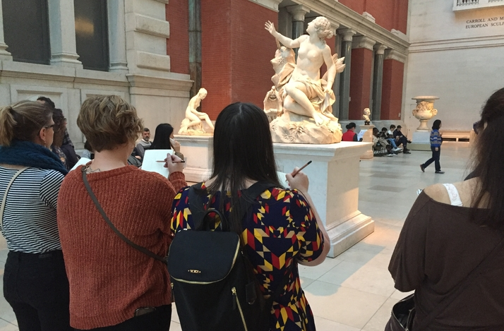 Learn the Art of Sketching at the Frick Museum with a Professional Artist: In New York, New York (1)