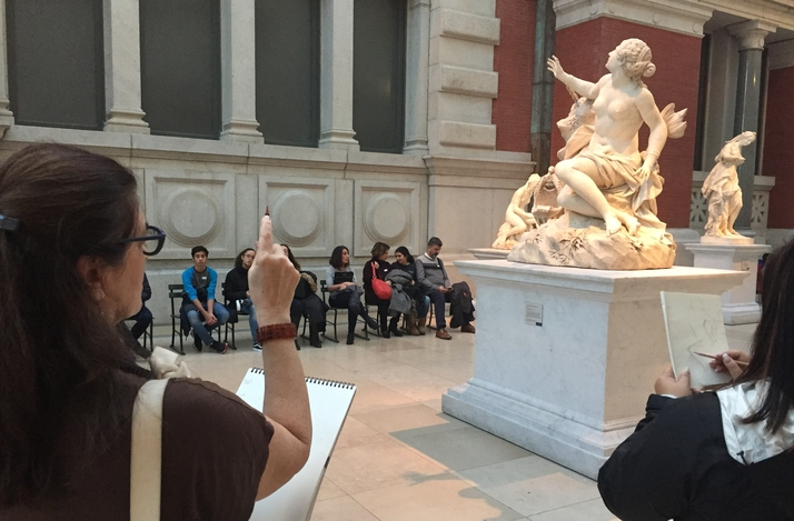 Learn How to Draw with a Professional Artist at the Metropolitan Museum of Art in New York: In New York, New York (1)