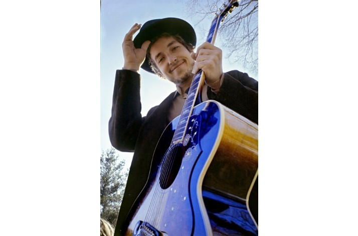 "Bob Dylan 'Nashville Skyline' Album Photo in 17"" by 22"" from Photographer Elliott Landy (1)"