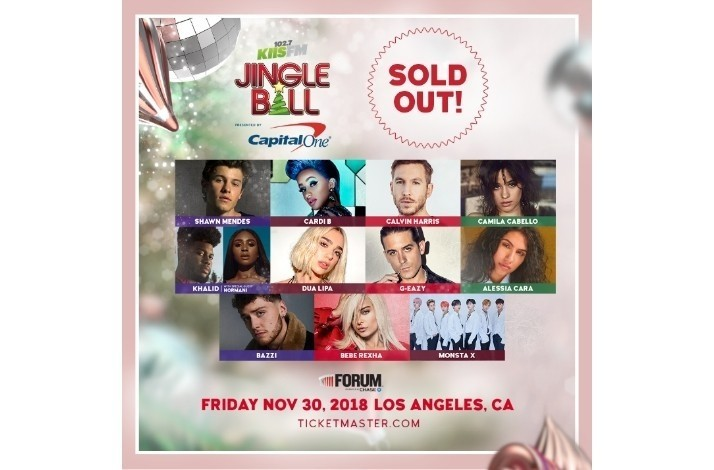 Go on a Date to KIIS FM's Jingle Ball with Blake Horstmann from 'The Bachelorette' in LA: In Inglewood, California (1)