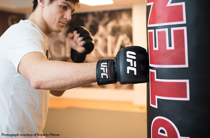 Train in mixed martial arts with UFC fighter Alessio Di Chirico: In Roma, Italy (1)