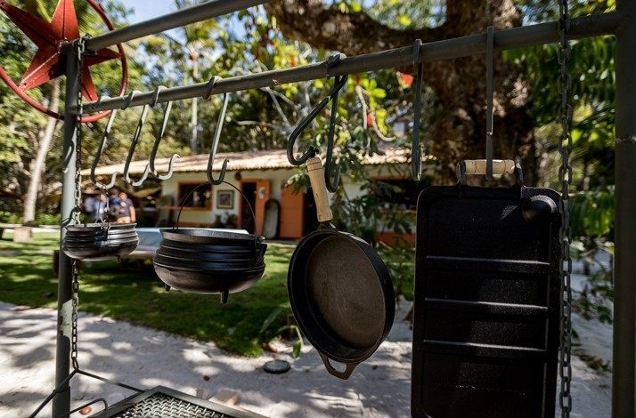 Dine on Bahian cuisine in the midst of a rubber plantation: In Trancoso, Brazil (1)