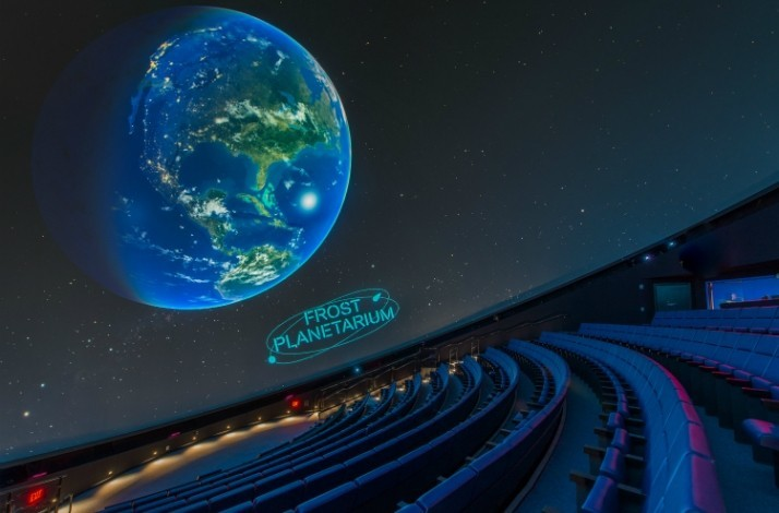 Explore outer space during an after-hours planetarium show: In Miami, Florida (1)