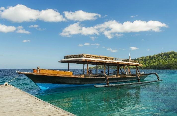 Escape to a luxury resort on the uninhabited Moyo Island: In Moyo Island, Indonesia (1)