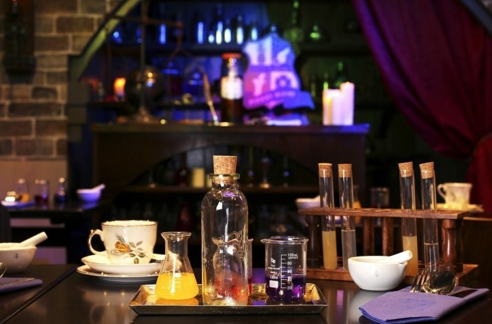 Conjure up a private afternoon tea in the Potion Room: In London, United Kingdom (1)