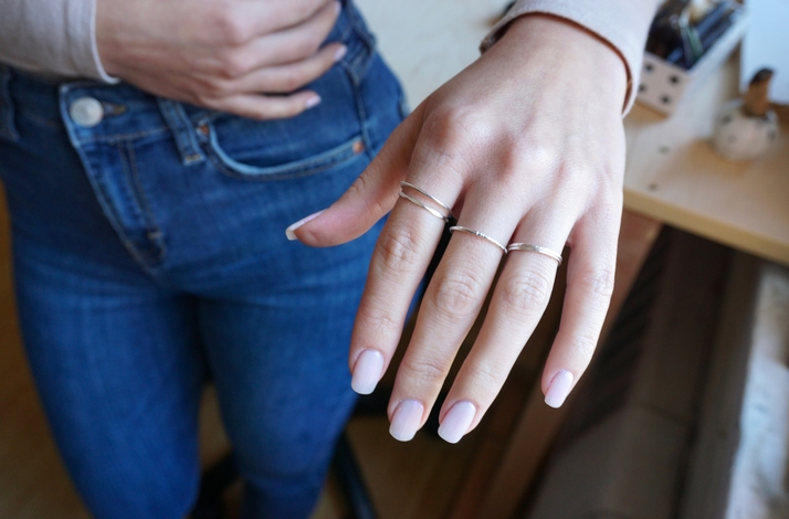 Make Your Own Sterling Silver Stacking Rings with a San Francisco Jewelry Designer : In San Francisco, California (1)