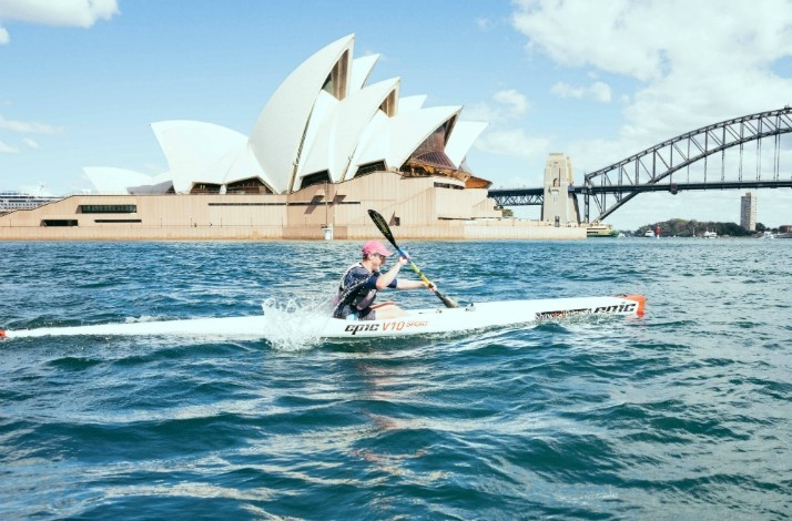 Start the day with a guided surf ski paddling tour of Sydney Harbour: In Rose Bay, Australia (1)