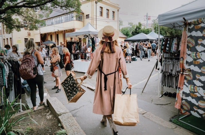 Shop Sydney's hottest markets with a top fashion blogger: In Surry Hills, Australia (1)